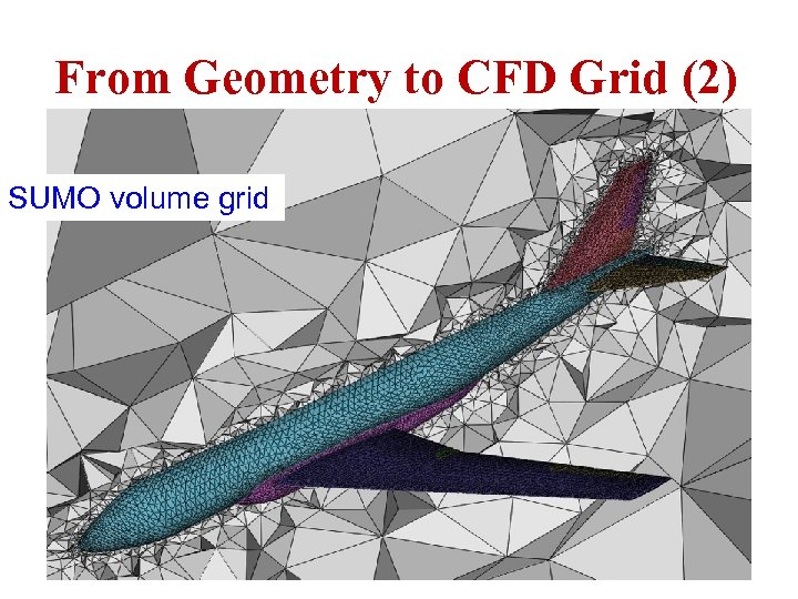 From Geometry to CFD Grid (2) SUMO volume grid ICAS Paper no. 282 Nice,