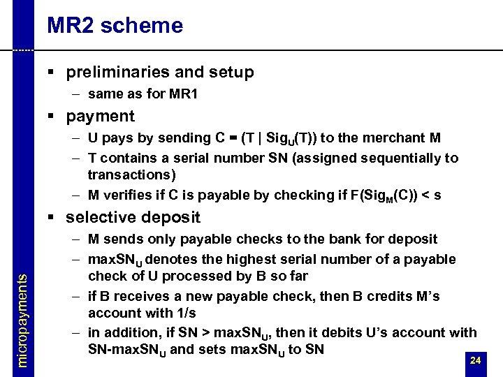 MR 2 scheme § preliminaries and setup – same as for MR 1 §