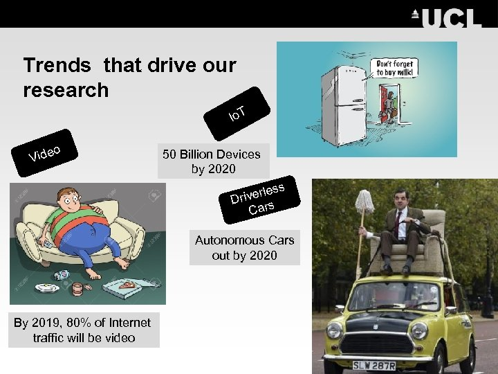 Trends that drive our research Io. T o Vide 50 Billion Devices by 2020