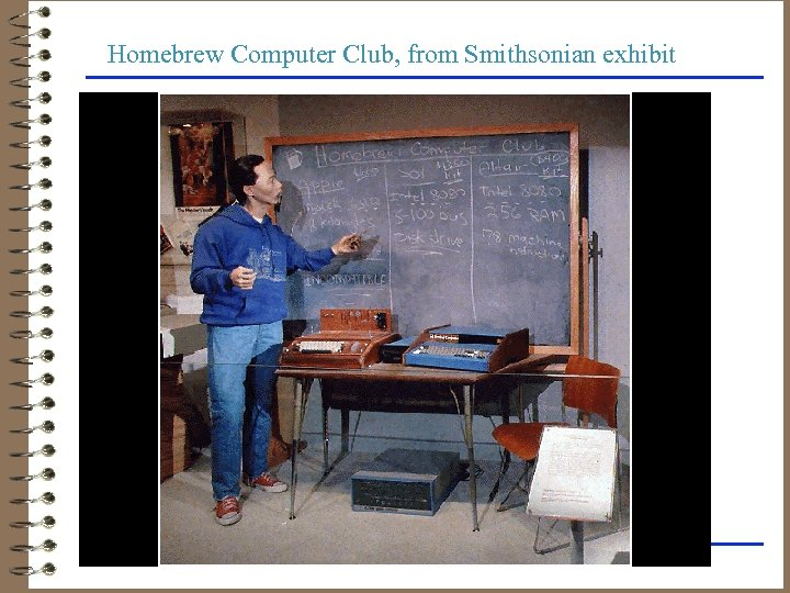 Homebrew Computer Club, from Smithsonian exhibit