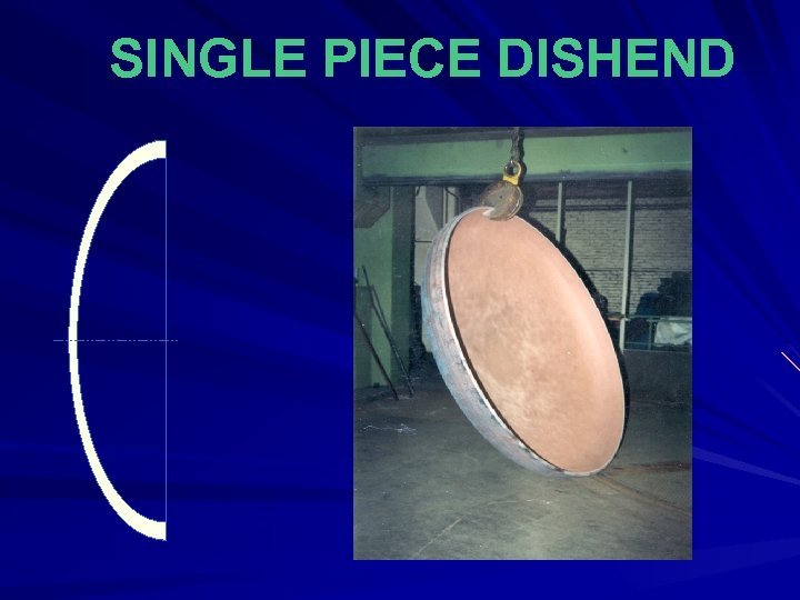 SINGLE PIECE DISHEND