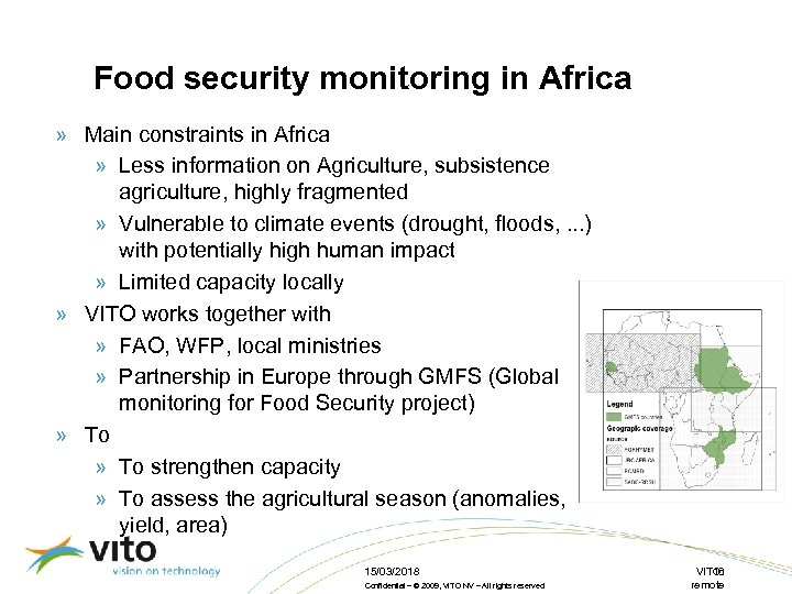 Food security monitoring in Africa » Main constraints in Africa » Less information on