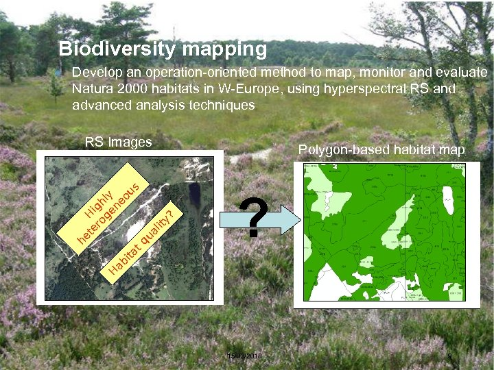 Biodiversity mapping » Develop an operation-oriented method to map, monitor and evaluate Natura 2000