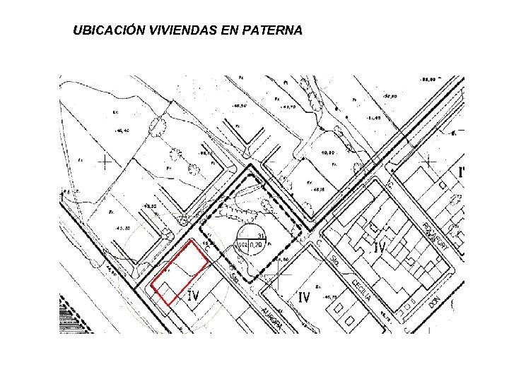 UBICACIÓN VIVIENDAS EN PATERNA