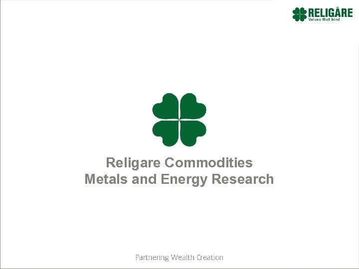 Religare Commodities Metals and Energy Research