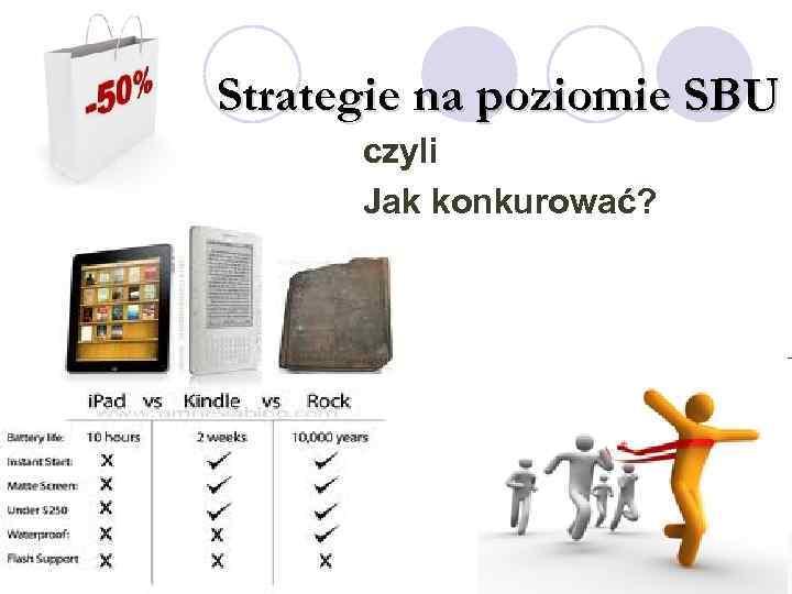 Strategie na poziomie SBU czyli Jak konkurować?