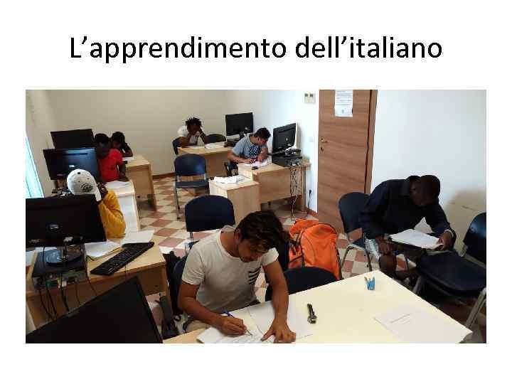 L'apprendimento dell'italiano