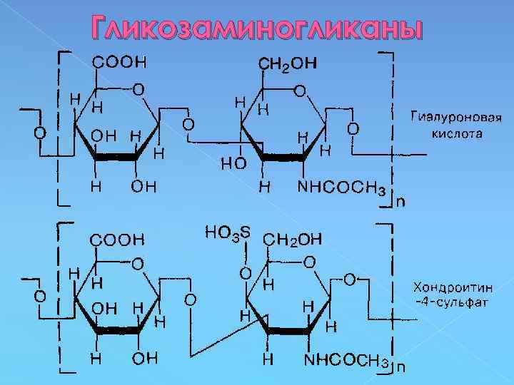 Гликозаминогликаны