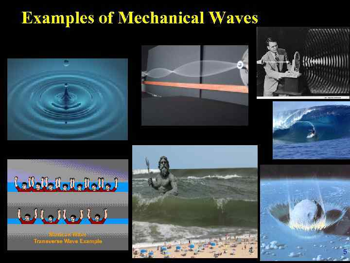 Lecture 16 Mechanical Waves Outline 1 Definition
