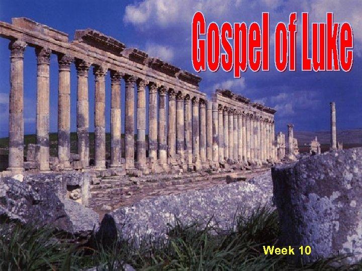 Week 10 1
