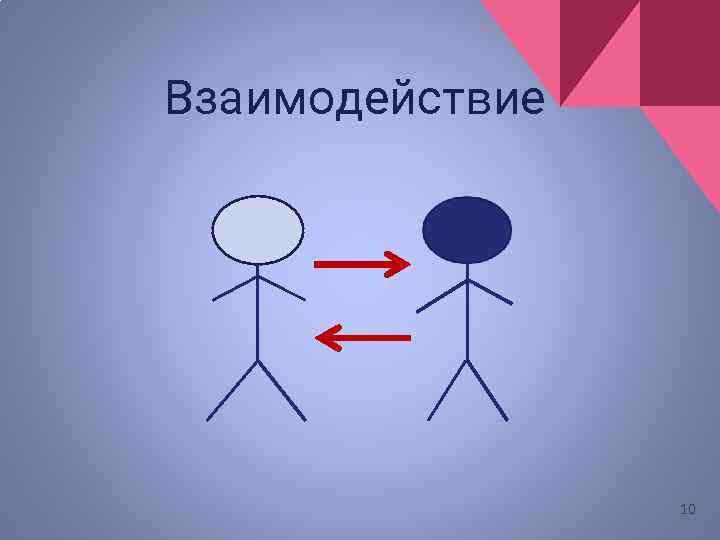 Взаимодействие 10