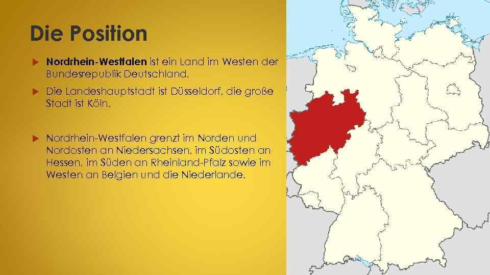 Landeshauptstadt von nordrhein-westfalen