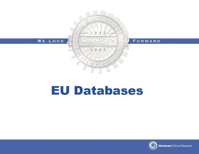 EU Databases