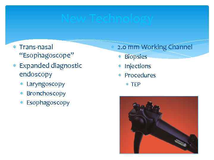 "New Technology Trans-nasal ""Esophagoscope"" Expanded diagnostic endoscopy Laryngoscopy Bronchoscopy Esophagoscopy 2. 0 mm Working"