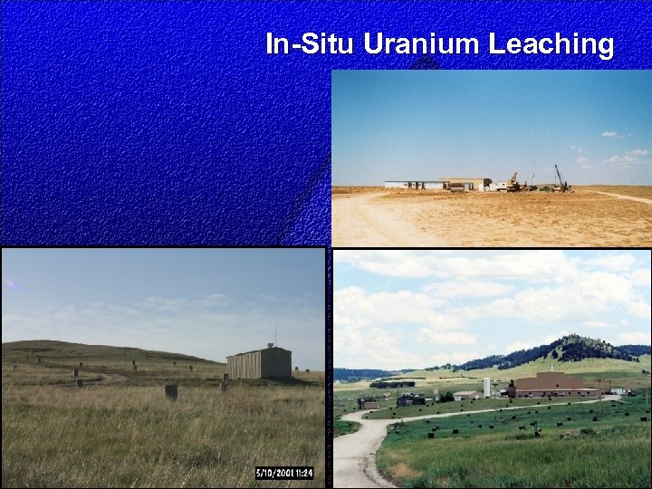 In-Situ Uranium Leaching
