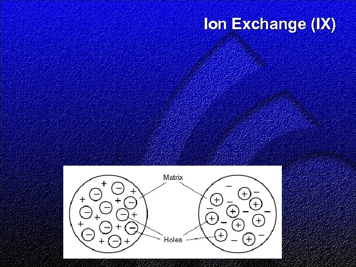 Ion Exchange (IX)