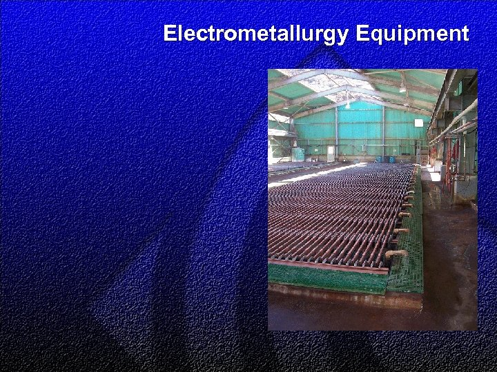 Electrometallurgy Equipment