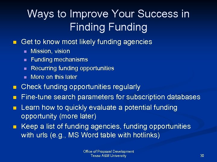 Ways to Improve Your Success in Finding Funding n Get to know most likely