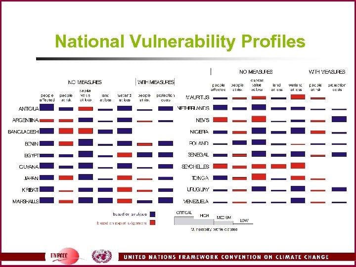 National Vulnerability Profiles