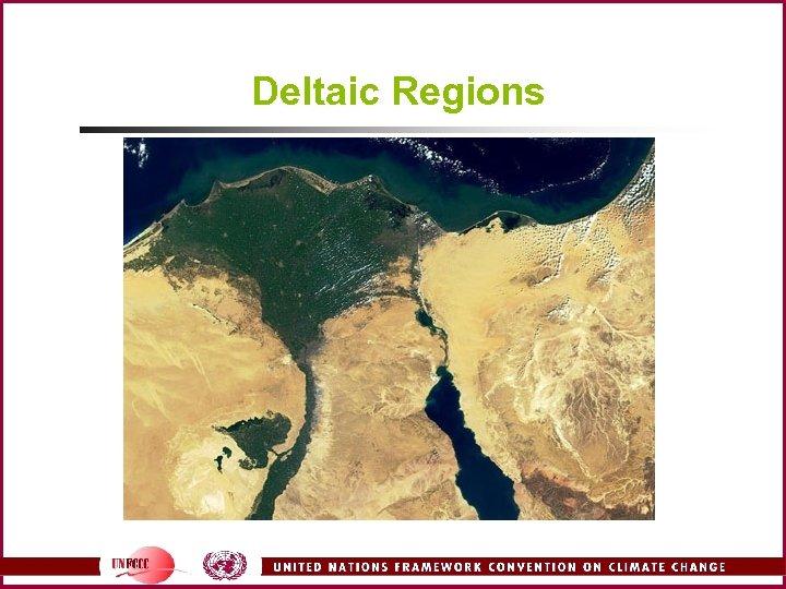 Deltaic Regions