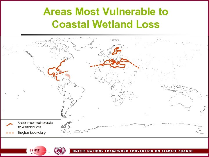 Areas Most Vulnerable to Coastal Wetland Loss