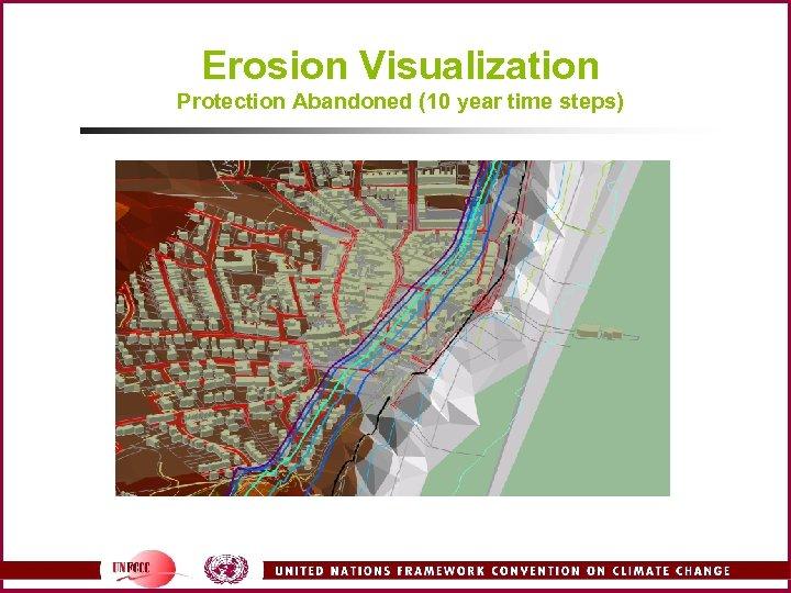 Erosion Visualization Protection Abandoned (10 year time steps)