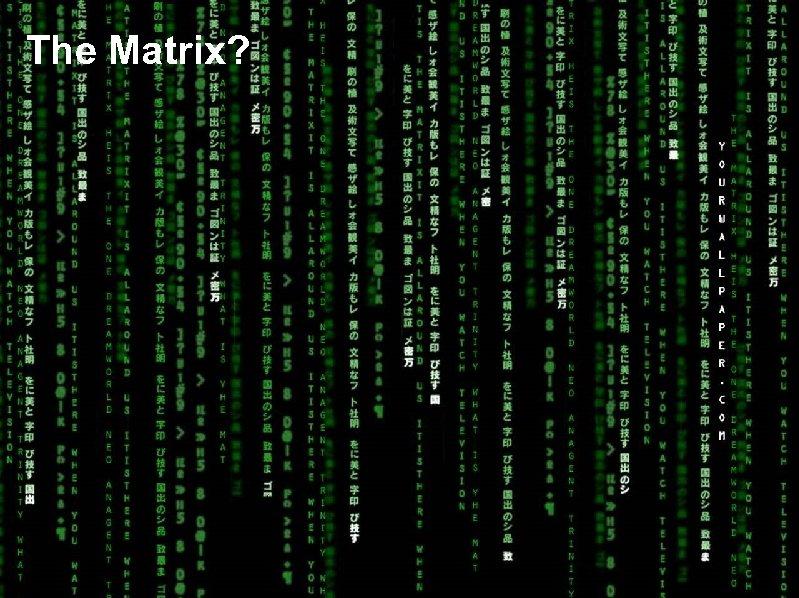 The Matrix?