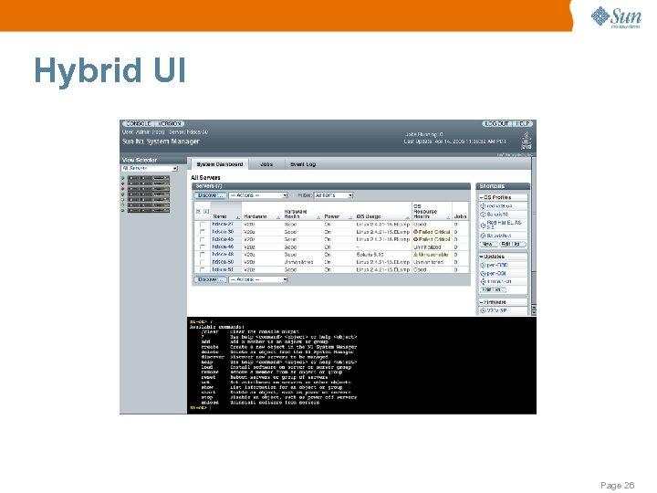 Hybrid UI Page 26
