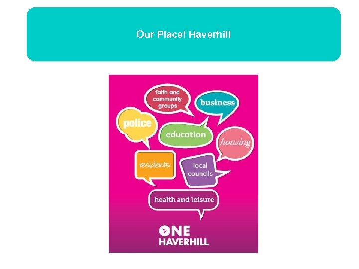 Our Place! Haverhill