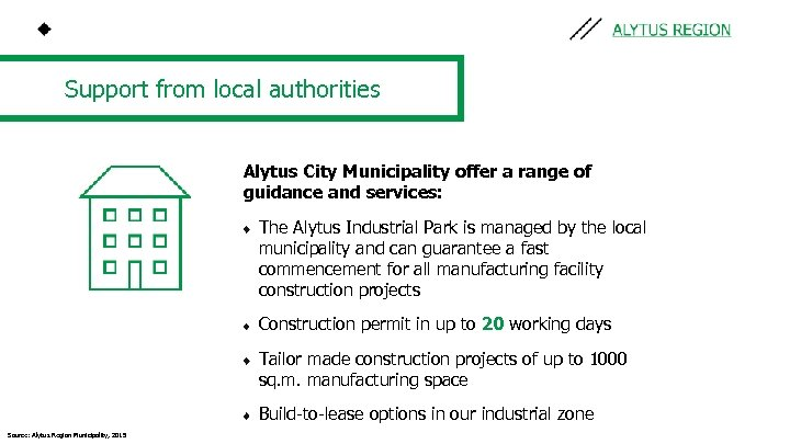 Support from local authorities Alytus City Municipality offer a range of guidance and services: