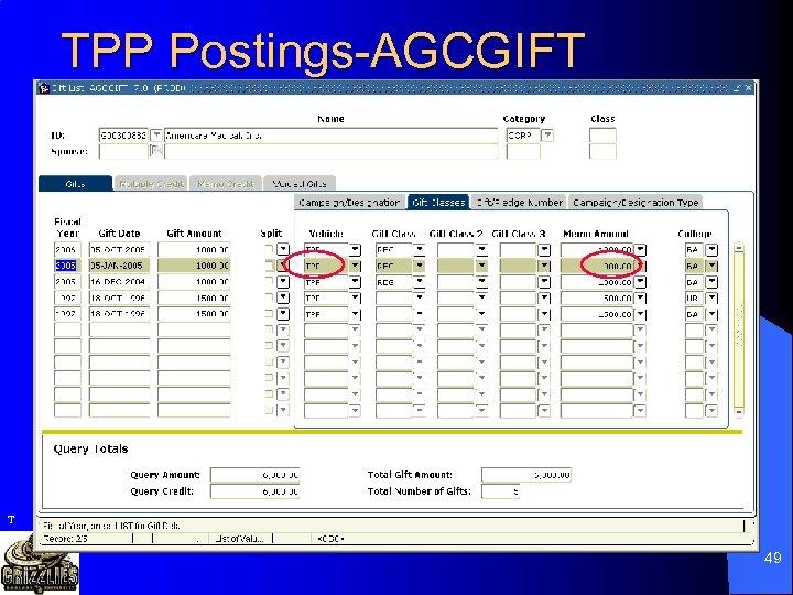 TPP Postings-AGCGIFT T 49