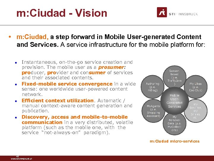 m: Ciudad - Vision • m: Ciudad, a step forward in Mobile User-generated Content