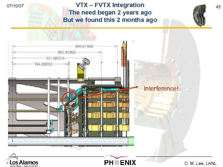 07/10/07 VTX – FVTX Integration The need began 2 years ago But we found