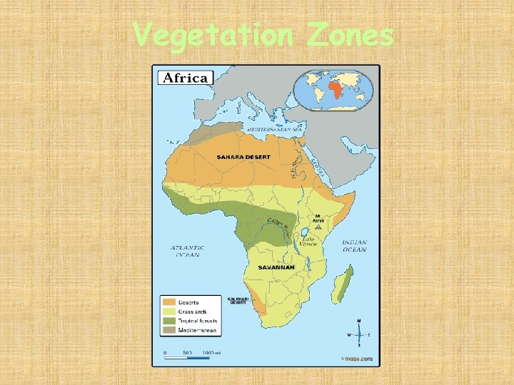 Vegetation Zones