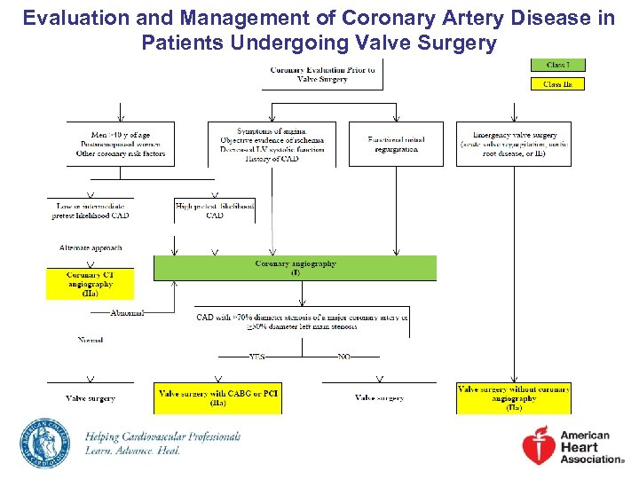 Evaluation and Management of Coronary Artery Disease in Patients Undergoing Valve Surgery