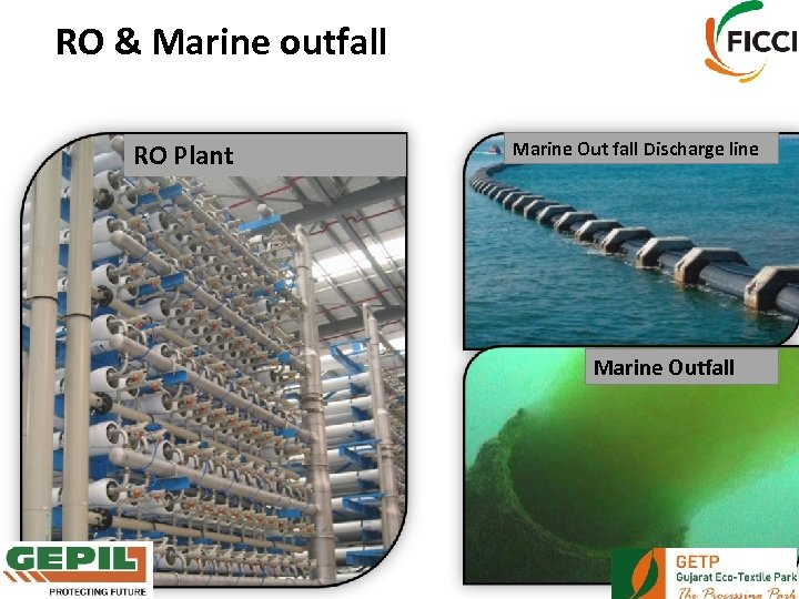 RO & Marine outfall RO Plant Marine Out fall Discharge line Marine Outfall