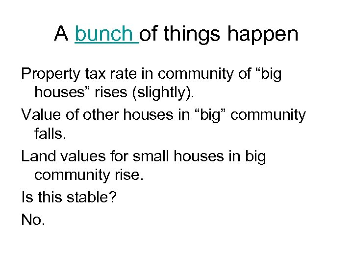 """A bunch of things happen Property tax rate in community of """"big houses"""" rises"""