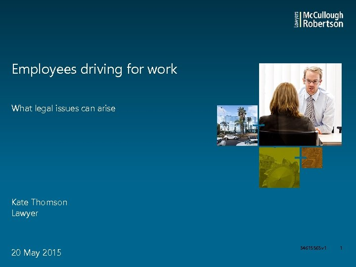 Employees driving for work What legal issues can arise Kate Thomson Lawyer 20 May