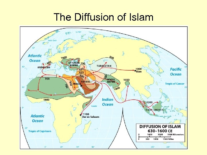 The Diffusion of Islam