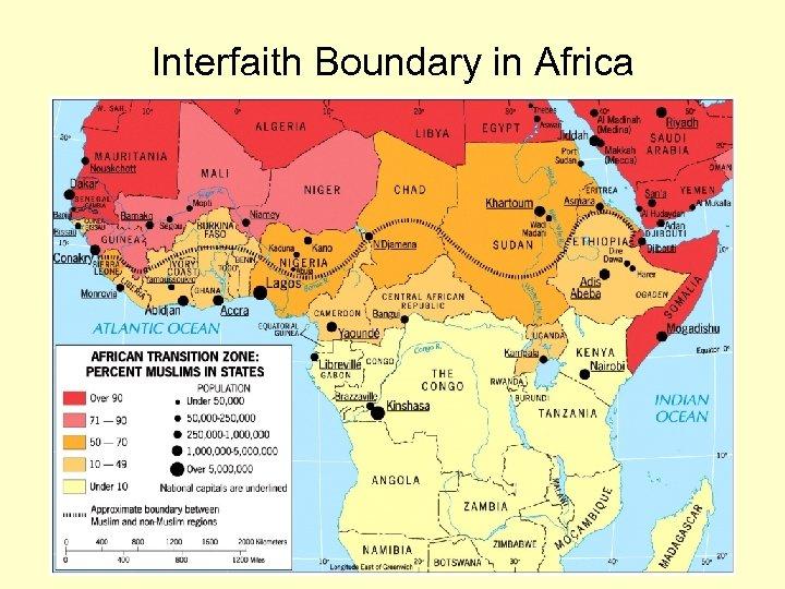 Interfaith Boundary in Africa