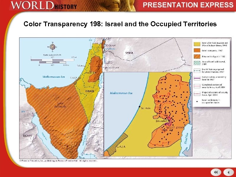 Color Transparency 198: Israel and the Occupied Territories