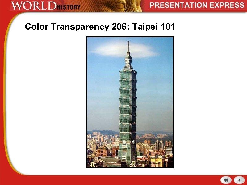 Color Transparency 206: Taipei 101