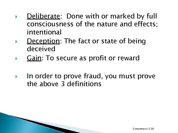 Deliberate: Done with or marked by full consciousness of the nature and effects;
