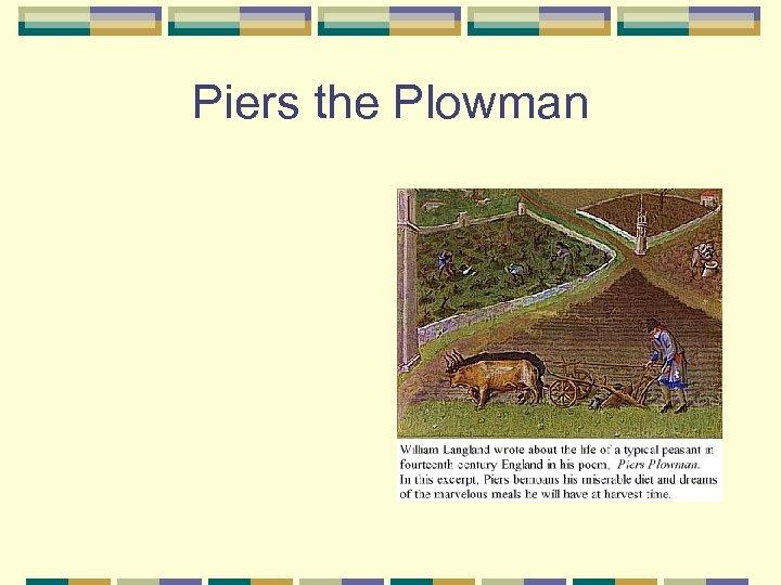 Piers the Plowman