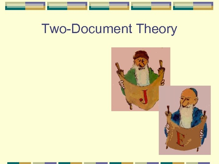 Two-Document Theory