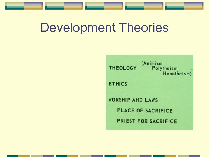 Development Theories
