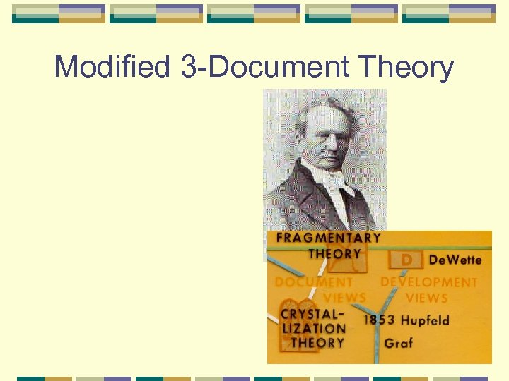 Modified 3 -Document Theory
