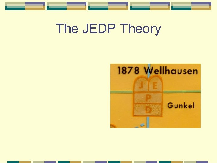The JEDP Theory
