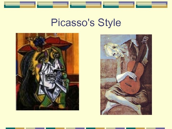 Picasso's Style