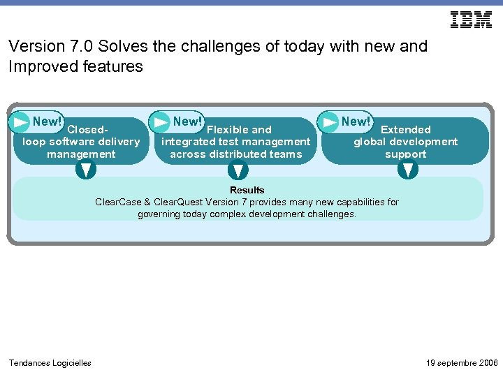 Version 7. 0 Solves the challenges of today with new and Improved features New!